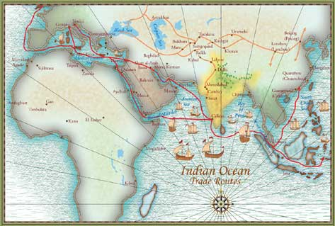 Ancient indian trade system